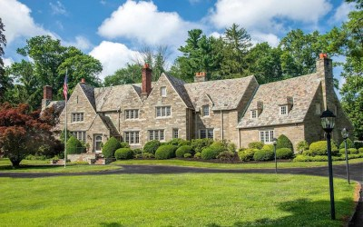 house for sale villanova greystone estate exterior front