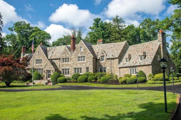 house for sale villanova greystone estate exterior front