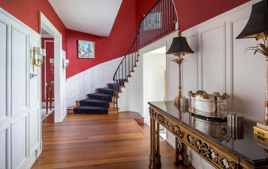 house for sale villanova greystone estate foyer
