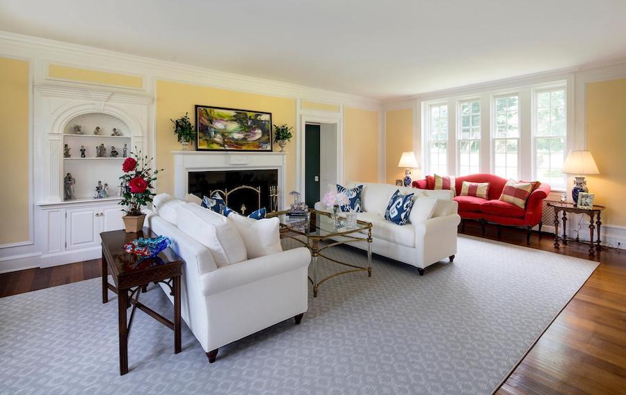 house for sale villanova greystone estate living room