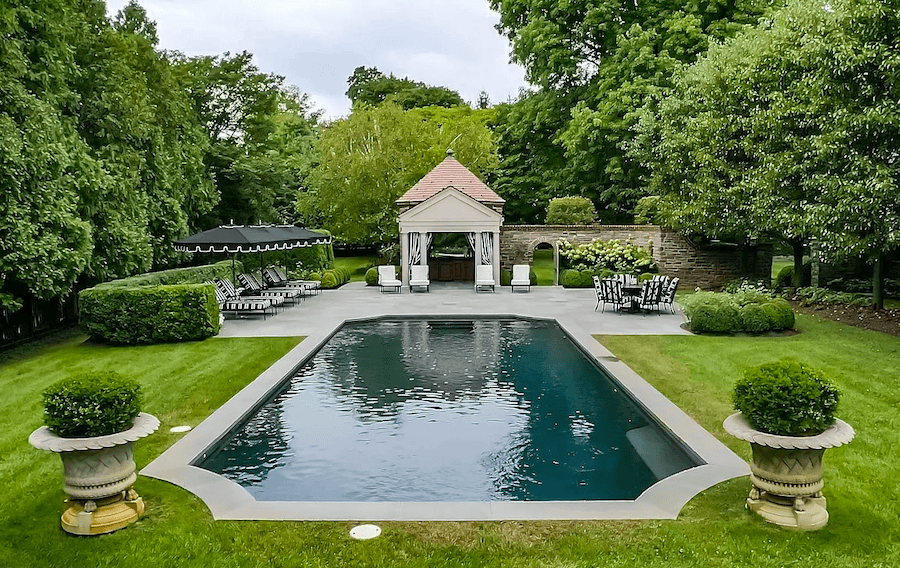 house for sale villanova norman mansion pool and cabana