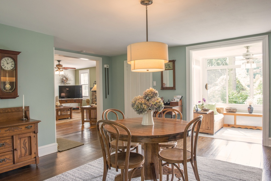 house for sale wallingford smith homestead dining room