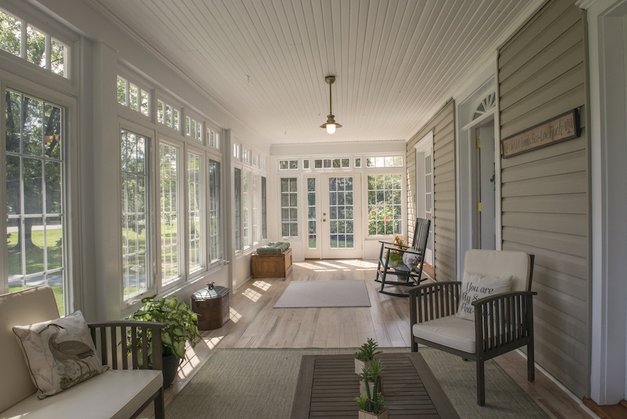 house for sale wallingford smith homestead front sunroom
