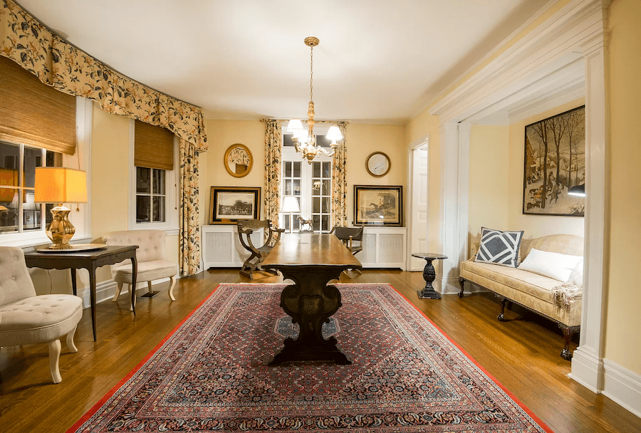 house for sale west chester sharples house dining room