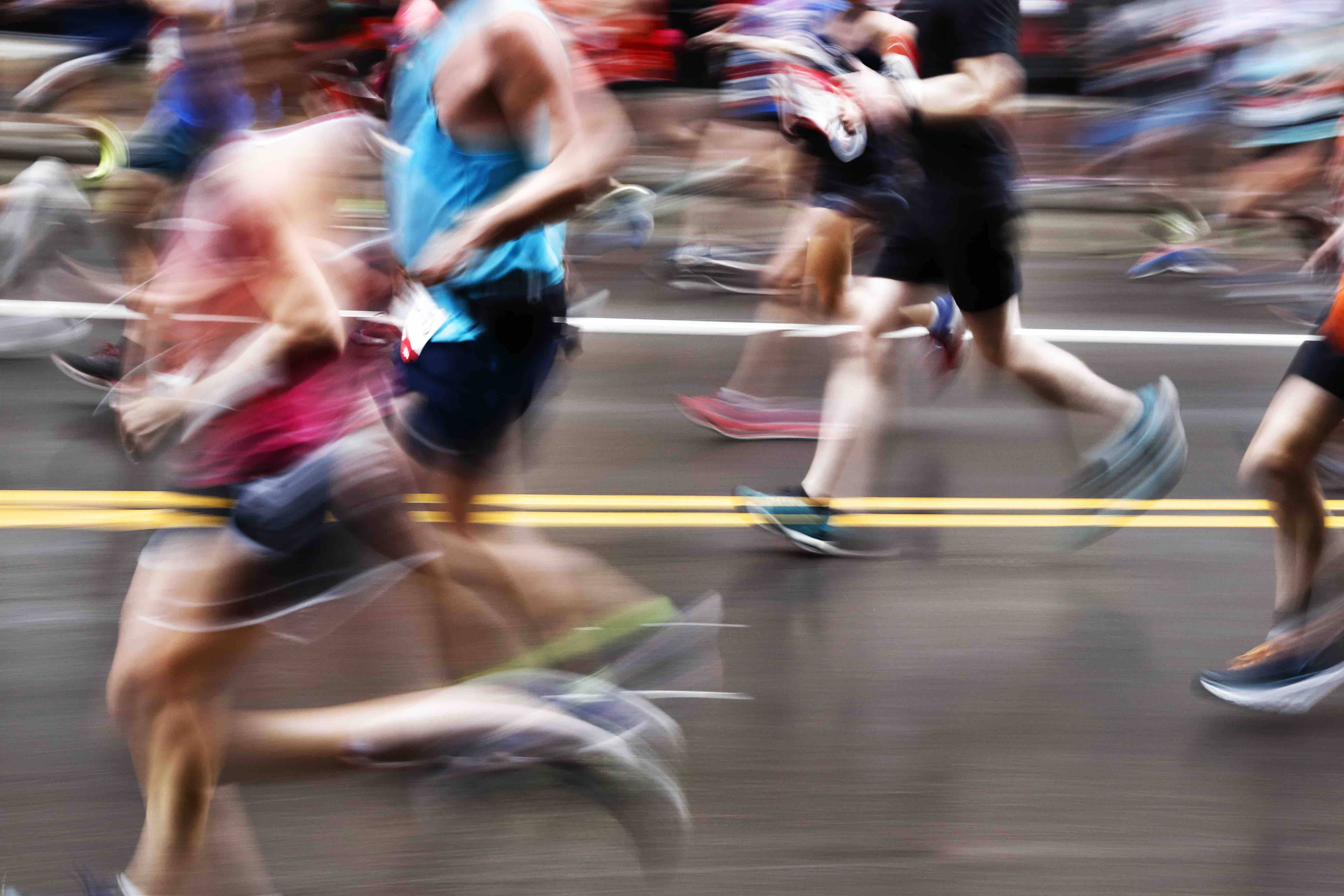 not running marathon