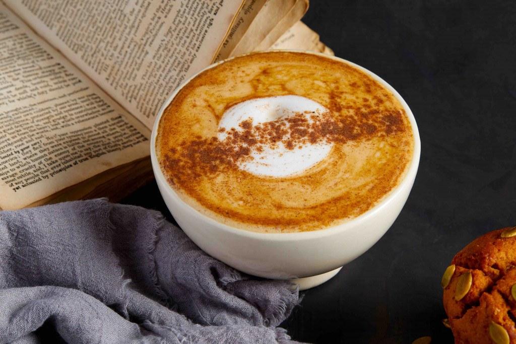 less sugary pumpkin spice latte