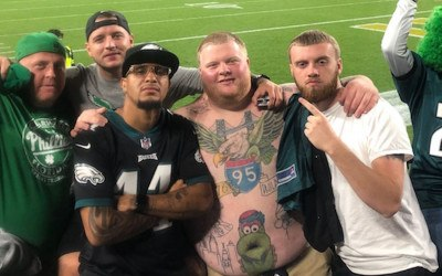 rob dunphy eagles fan tattoos