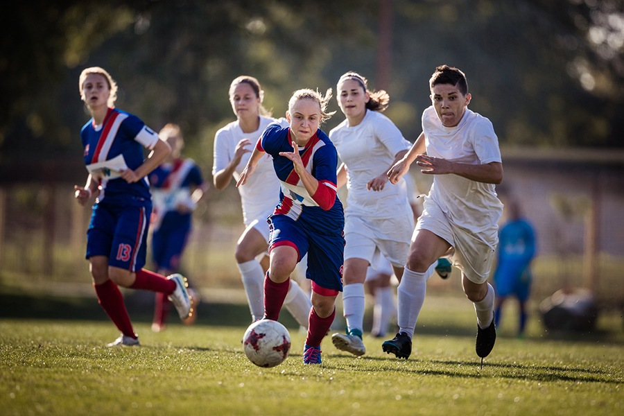 school sports practice