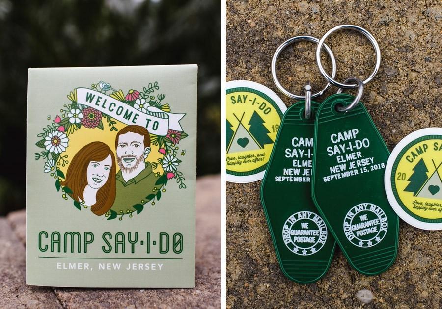 summer-camp-wedding-favors