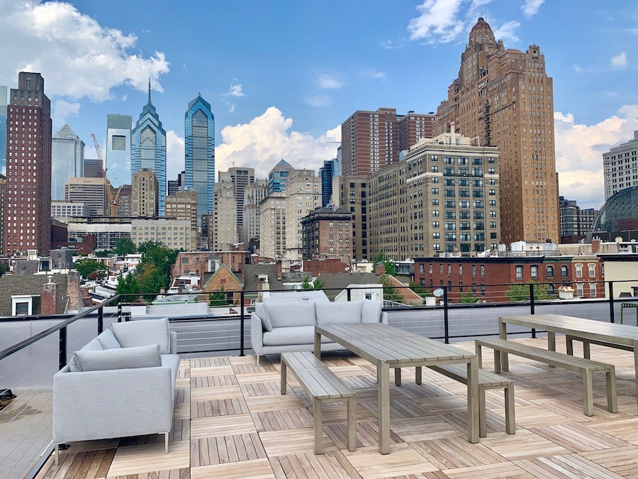 the peyton apartment profile roof deck