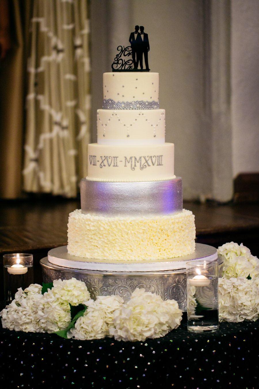 Sophisticakes wedding cake