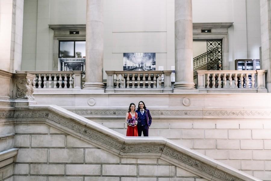 Philadelphia couple portrait