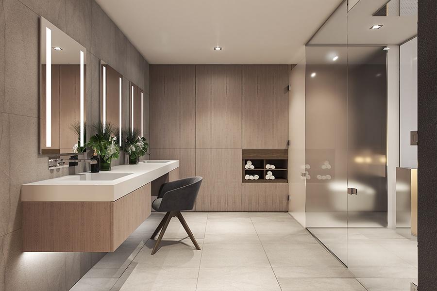 Bock 2100 Hamilton bathroom