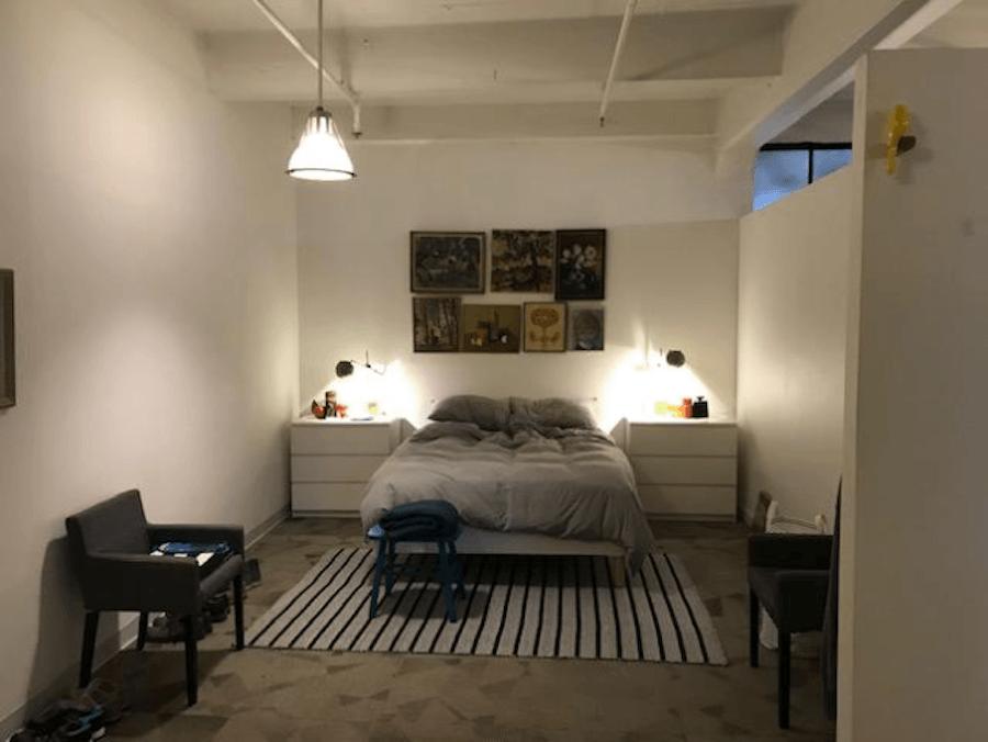 apartment for rent old city live work loft bedroom