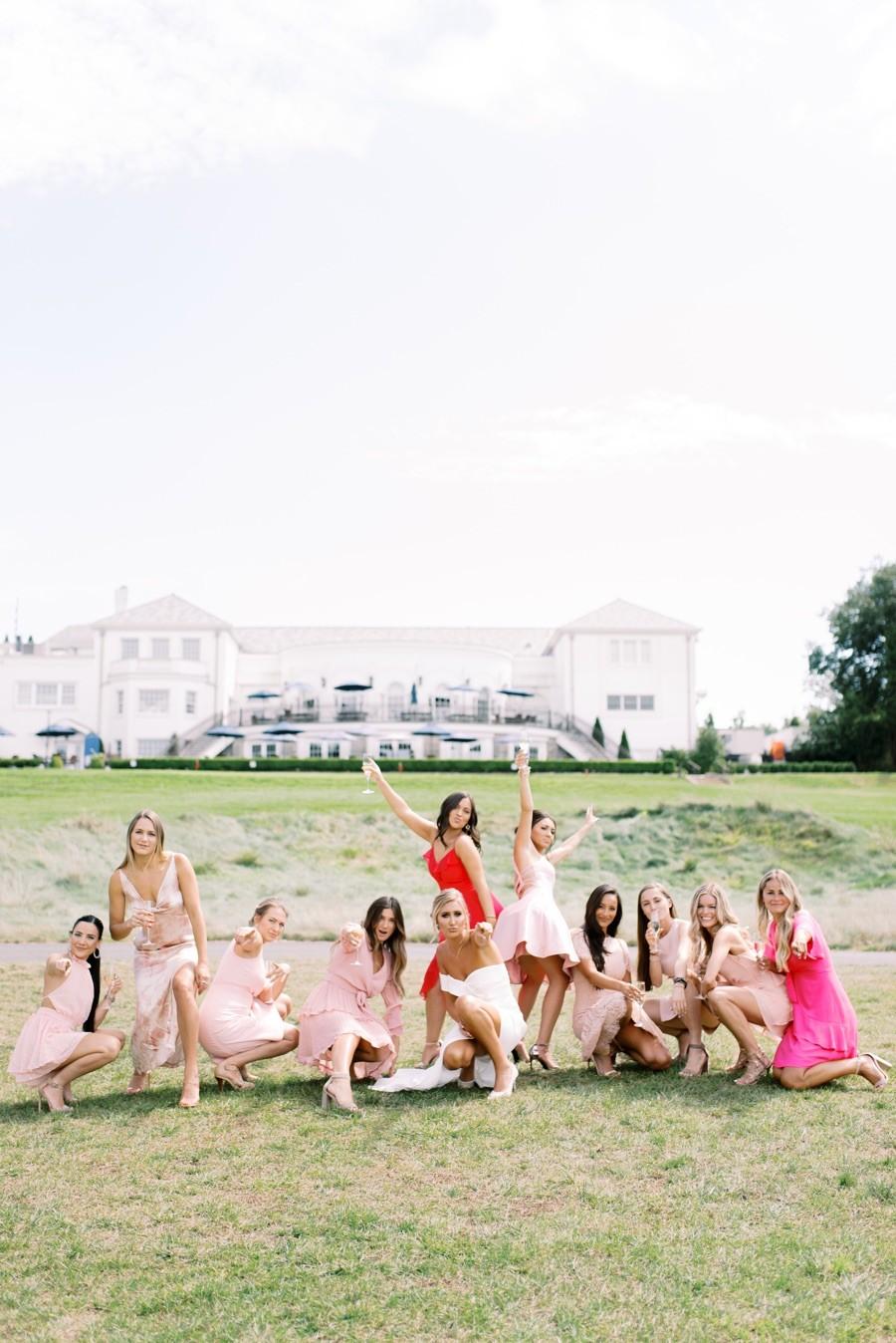 Dani's Bridesmaids Brunch | Union League Torresdale Country Club