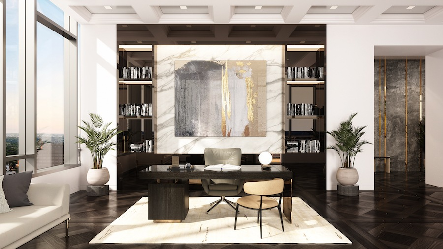 the laurel penthouse study