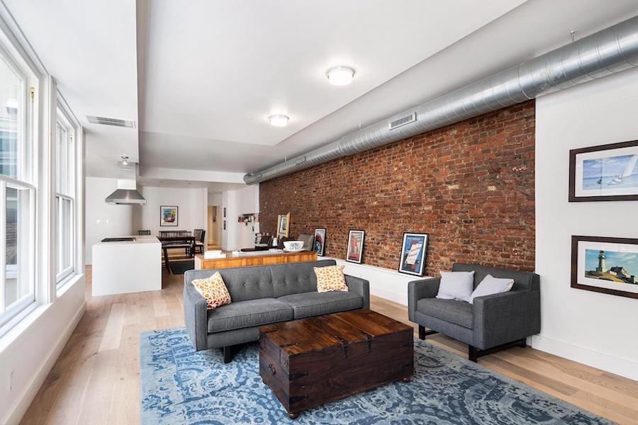 condo for sale rittenhouse modern condo main living area