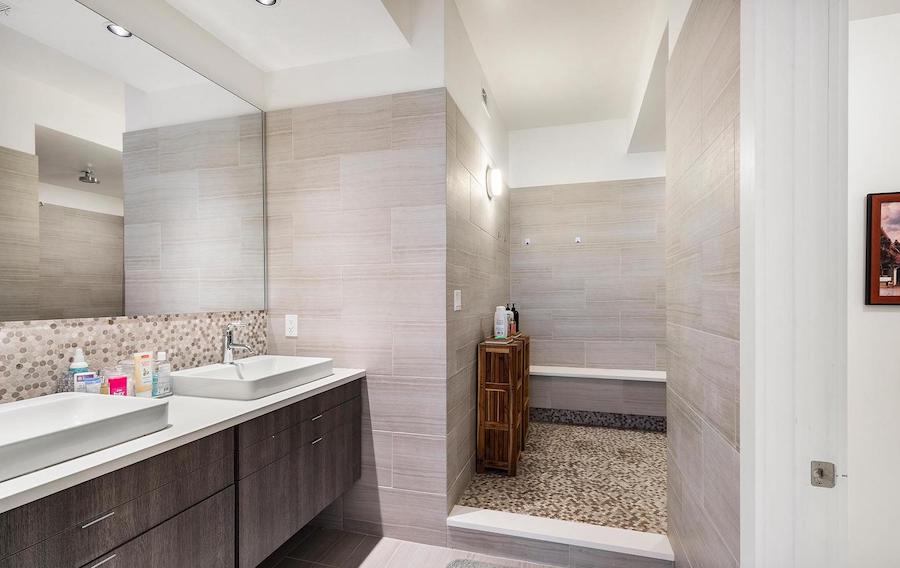 condo for sale rittenhouse modern condo master bathroom