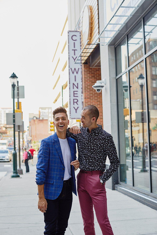 men-couple-models-winery
