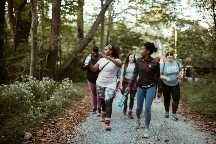 mindful hike