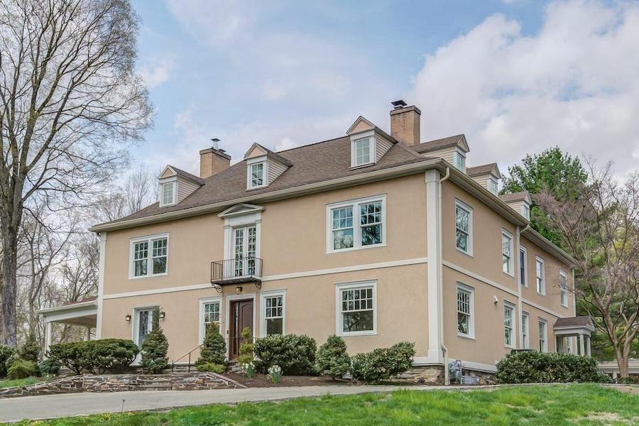 house for sale bryn mawr regency colonial exterior front