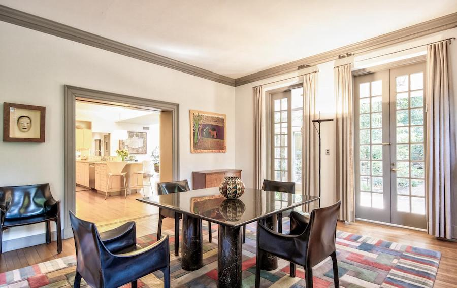 house for sale chestnut hill contemporary colonial dining room