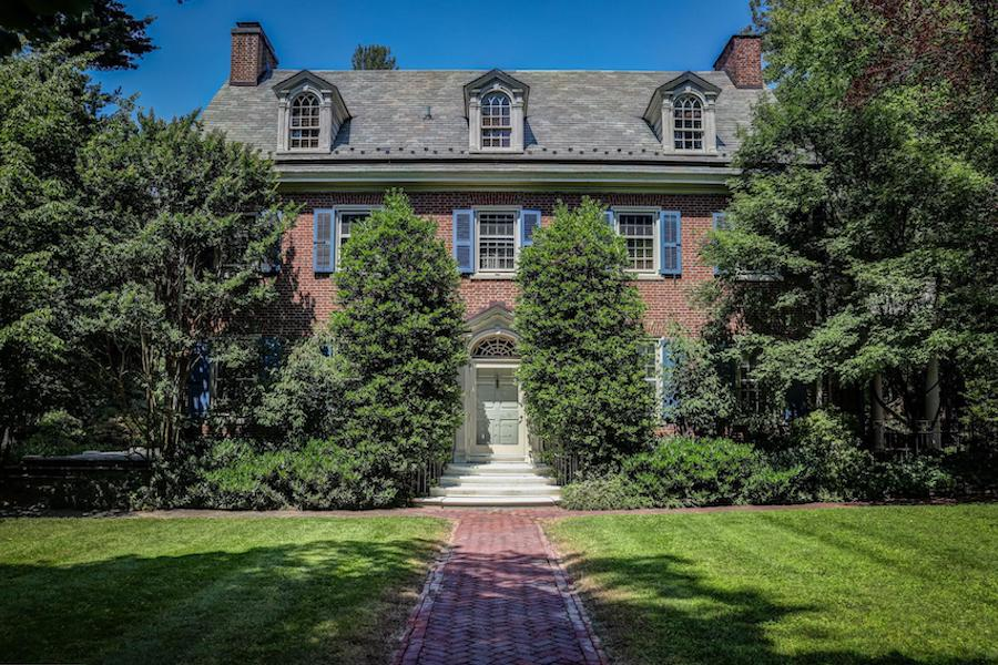 house for sale chestnut hill contemporary colonial exterior front