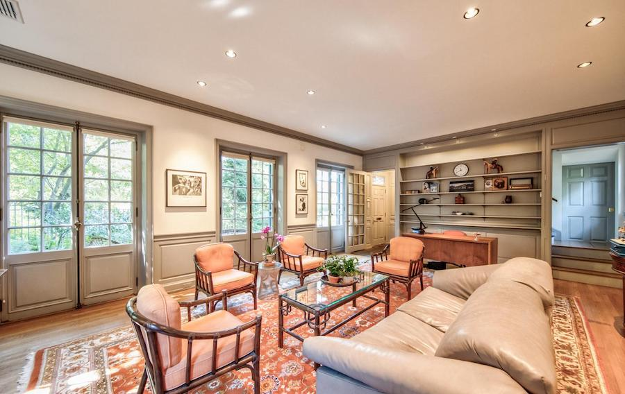 house for sale chestnut hill contemporary colonial little house living room