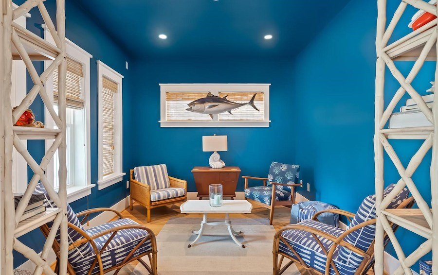 house for sale dewey beach neotraditional estate den