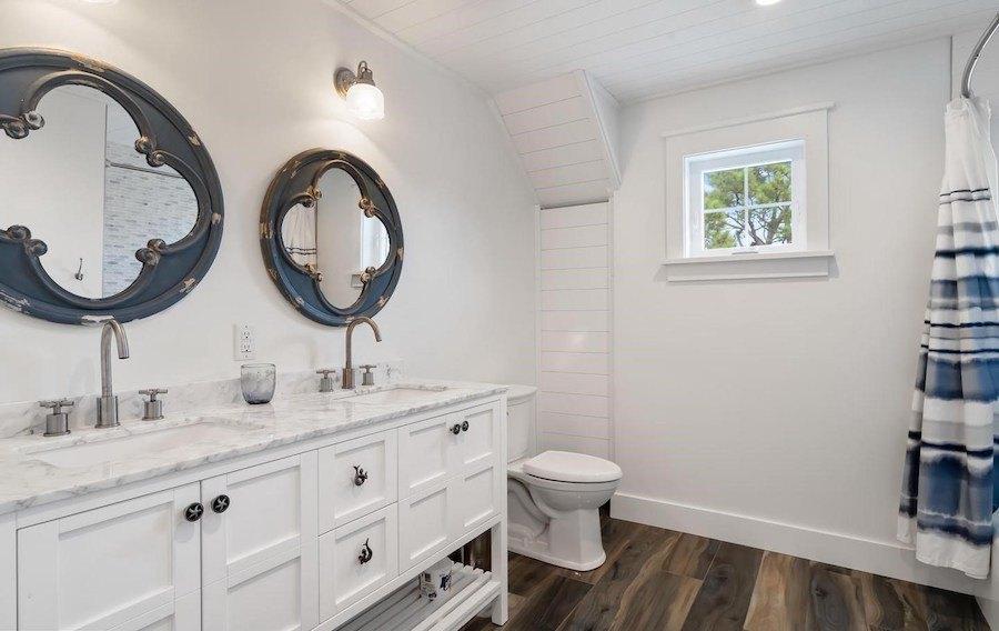 house for sale dewey beach neotraditional estate master bathroom