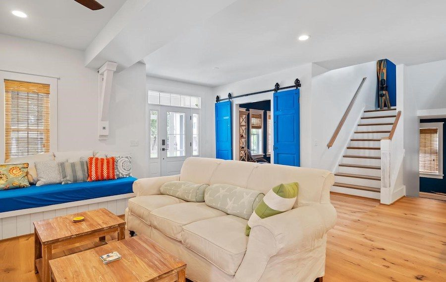 house for sale dewey beach neotraditional estate great room sitting area