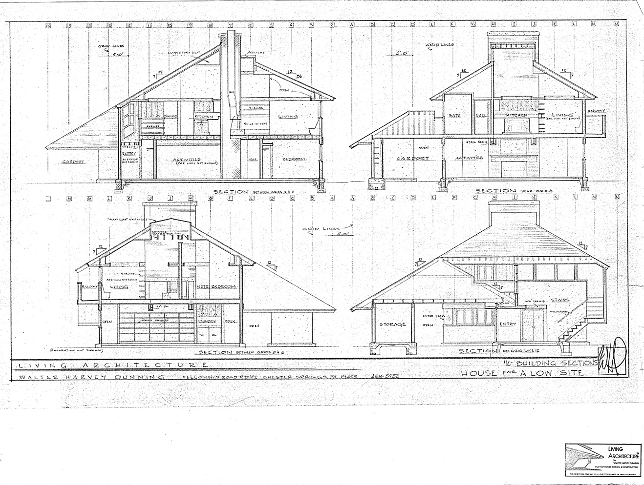 house for sale elverson dunning house cross-section