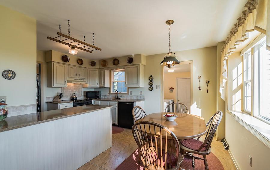 house for sale erwinna hilltop colonial breakfast room and kitchen