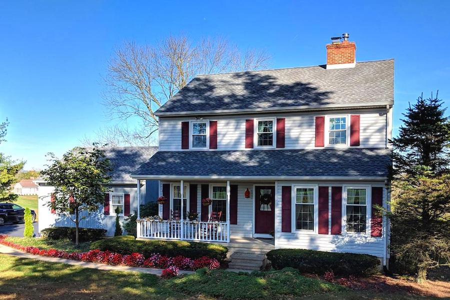 house for sale erwinna hilltop colonial exterior front