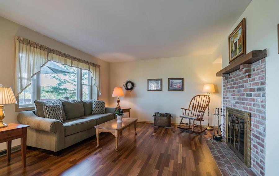 house for sale erwinna hilltop colonial family room