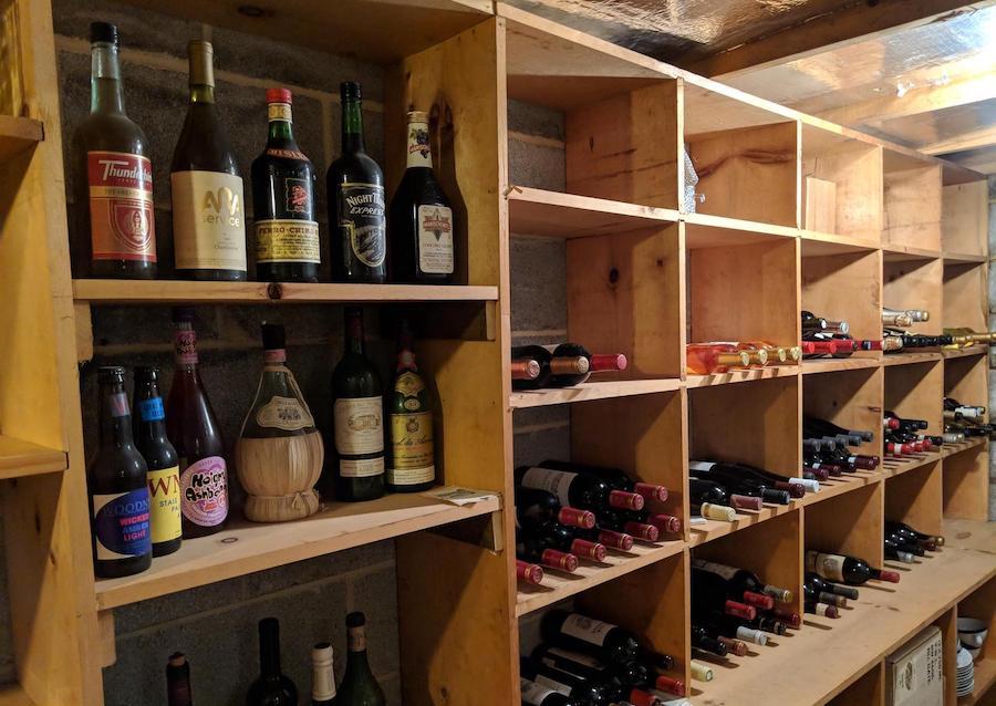 house for sale erwinna hilltop colonial wine cellar