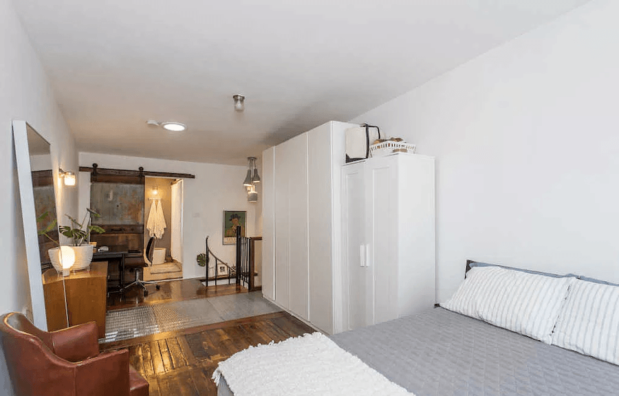 house for sale east kensington contemporary rehab bedroom with metal grating