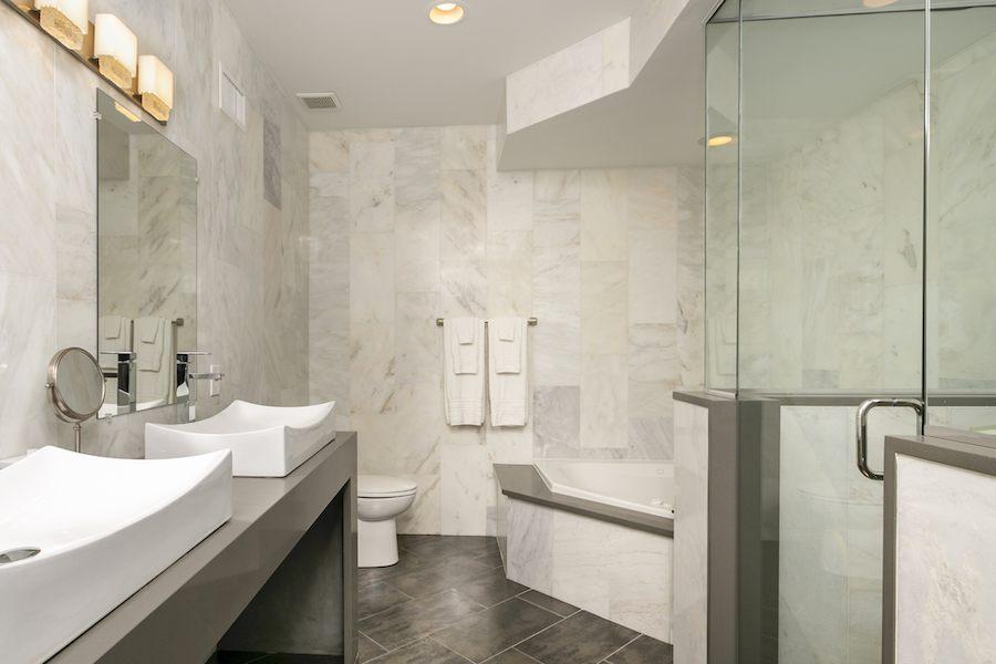 house for sale fishtown kraemer house master bathroom