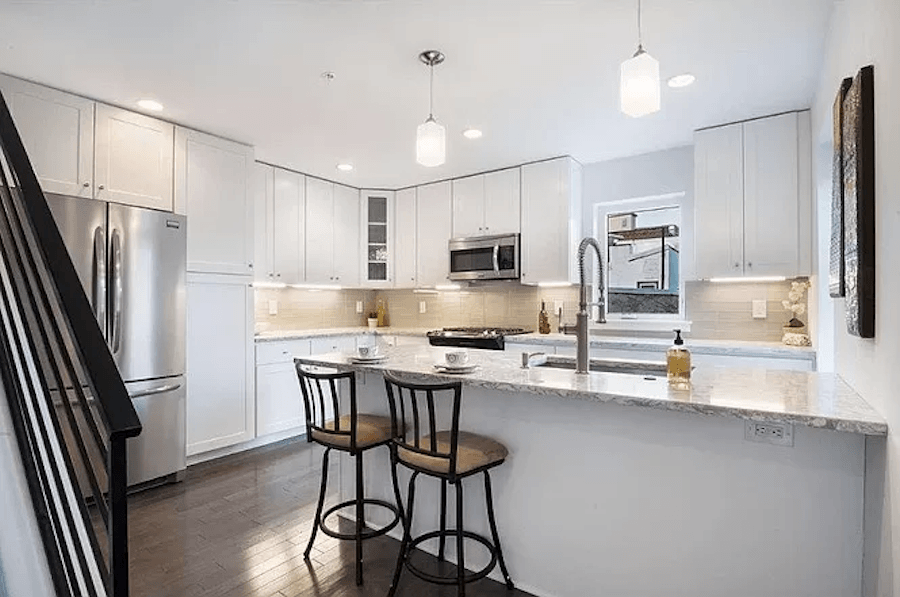 house for sale fishtown young twin kitchen old