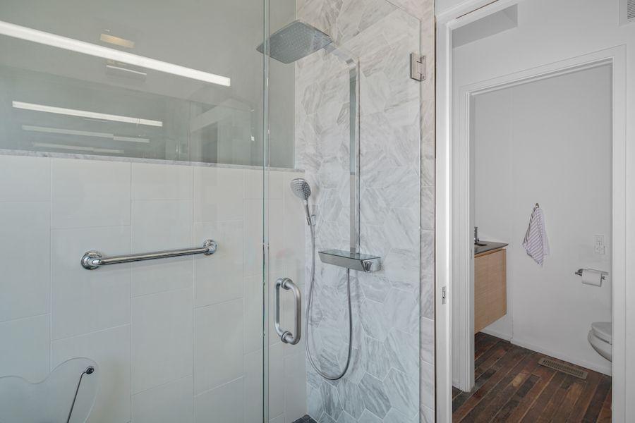 house for sale fishtown onion flats jackhammer master bathroom shower