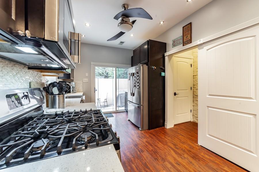 house for sale east kensington rebuilt rowhouse kitchen