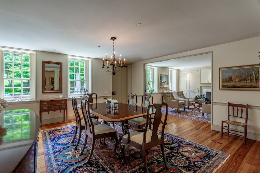 house for sale new hope limepoint farm dining room