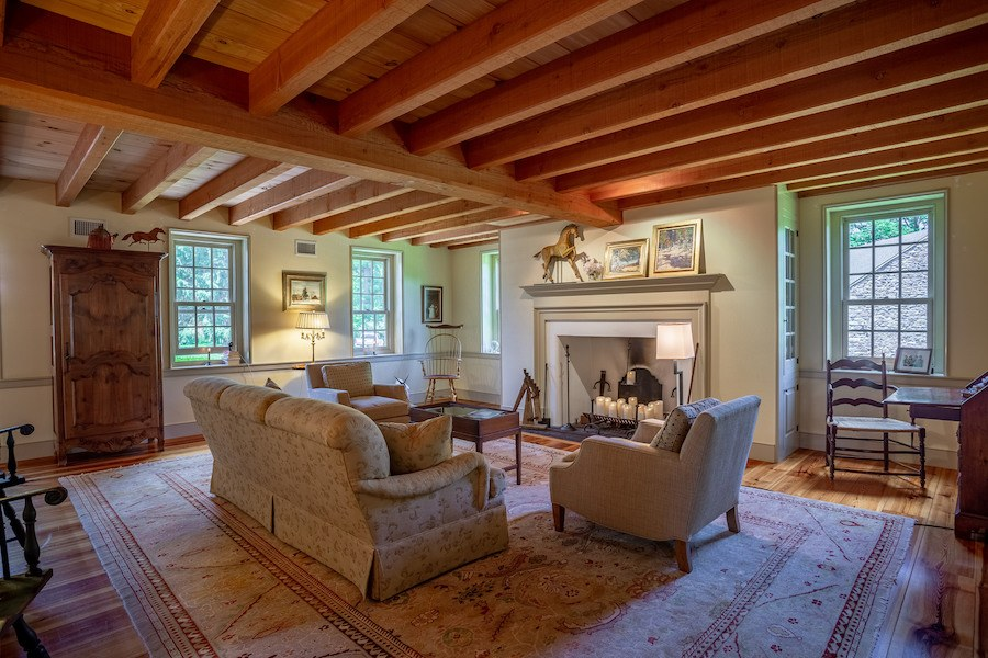 house for sale new hope limepoint farm great room