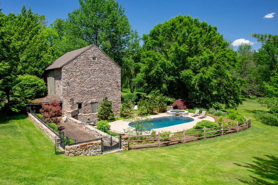 house for sale new hope limepoint farm pool and barn