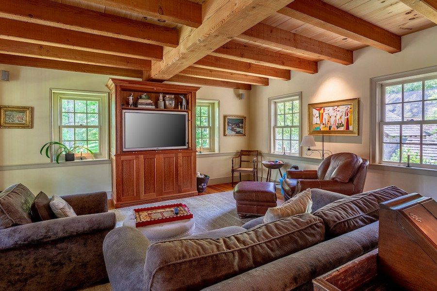 house for sale new hope limepoint farm media room