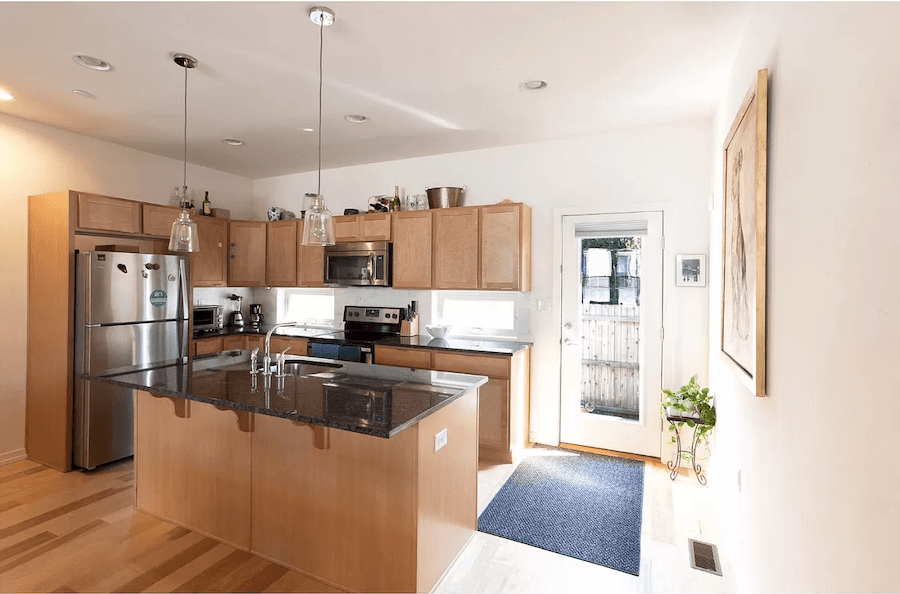 house for sale south kensington modern row kitchen