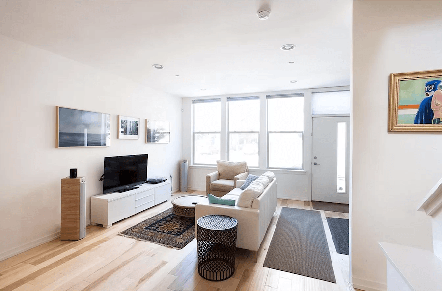 house for sale south kensington modern row living room