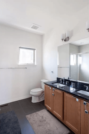 house for sale south kensington modern row master bathroom