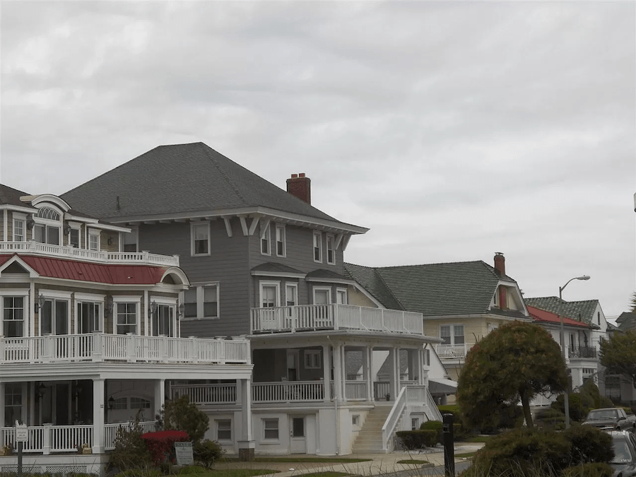 house for sale ventnor summer religious retreat perspective view towards beach