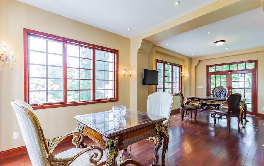 house for sale villanova french baroque manor study